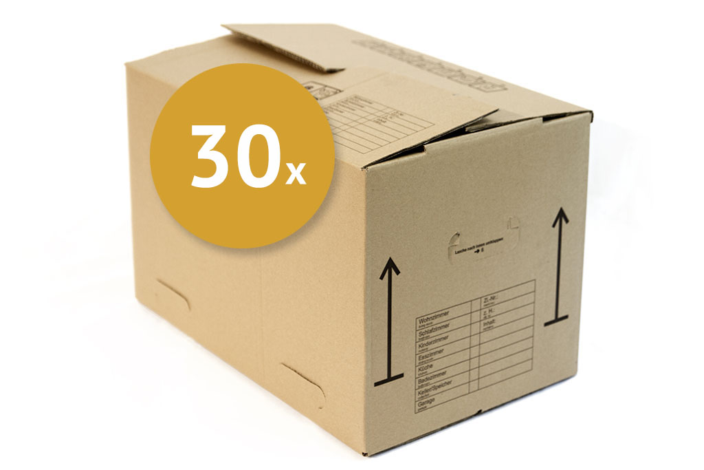30 x umzugskartons 84 l umzugskartons online kaufen. Black Bedroom Furniture Sets. Home Design Ideas